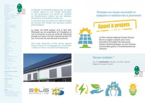 contenu appel à projet solaire